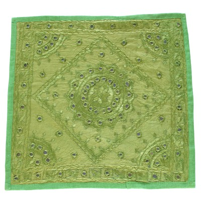 "Housse de coussin indienne - ""Rajasthan"" (hcmir06v)"
