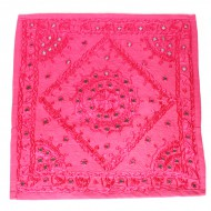 "Housse de coussin indienne - ""Rajasthan"" (hcmir05r)"