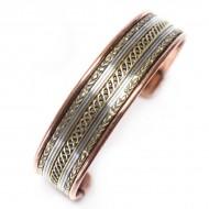Bracelet Cuivre et Aimants (brcuig09/2)