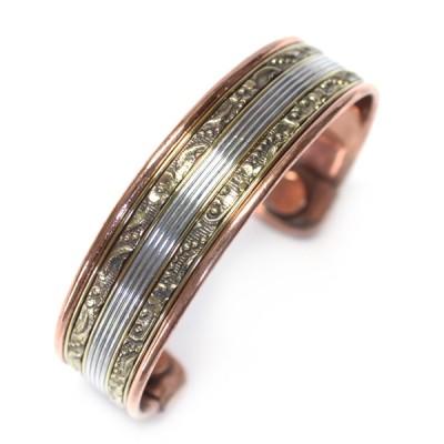 Bracelet Cuivre et Aimants (brcuig11/2)