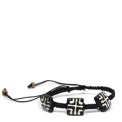 Bracelet indien en os (brinco23)
