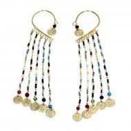 Tours d'oreilles Indiens multicolores (binto001)