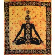 Tentures murales des 7 chakras