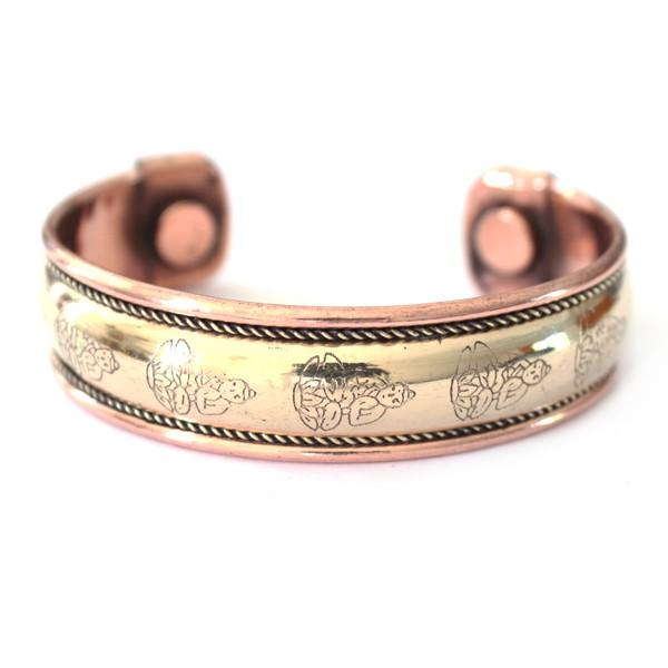 Bracelet cuivre et aimants bijoux indiens originaux sur - Bracelets bresiliens originaux ...