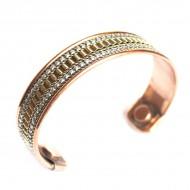 Bracelet Cuivre et Aimants (brcuig007)
