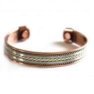 Bracelet Cuivre et Aimants (brincui08)
