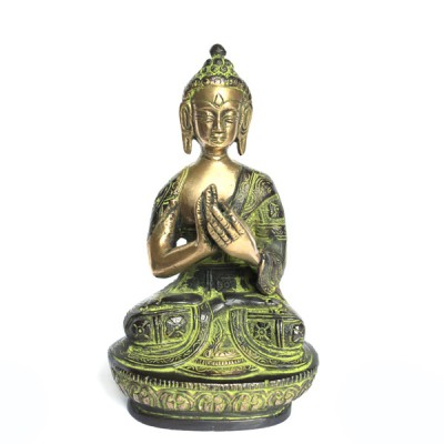 Statuette Bouddha - Statuette Indienne (stabb012)