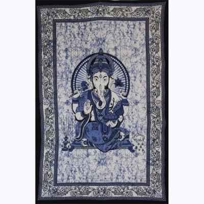 "Tenture Indienne ""Ganesh"" (tmm242)"