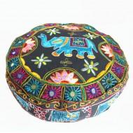 Housse de pouf - Rajasthan (hpouf03)