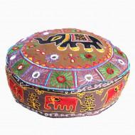 Housse de pouf - Rajasthan (hpouf14bd)