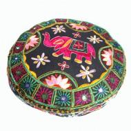 Housse de pouf - Rajasthan (hpouf18n)