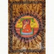 "Tenture Peinte ""Bouddha""(tmm198/4)"