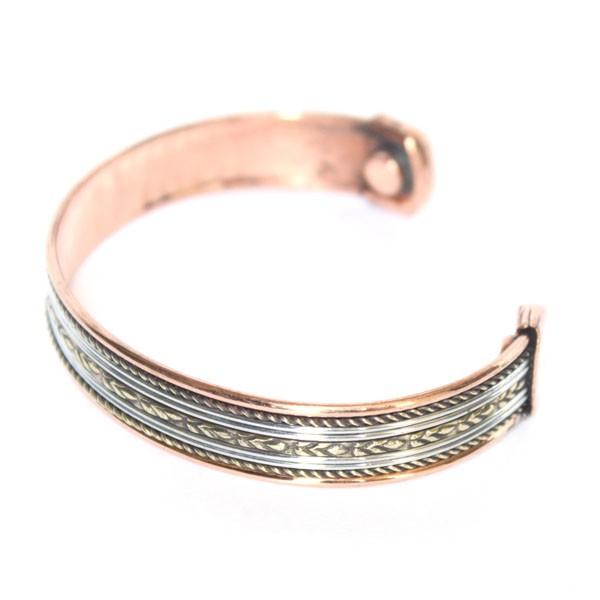 Bracelet idien cuivre et aimants bijoux indiens originaux sur - Bracelets bresiliens originaux ...