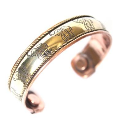 Bracelet Cuivre et Aimants (brcuig014)
