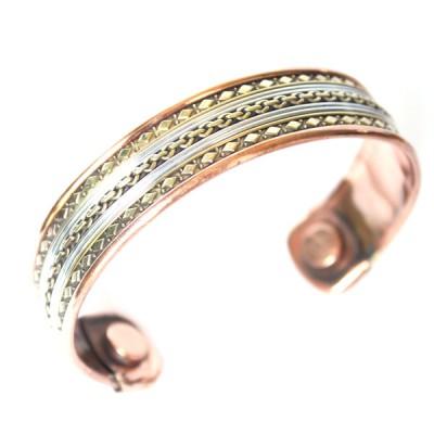 Bracelet Cuivre et Aimants (brcuig017)