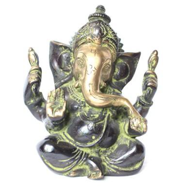 Statuette Ganesh - Statuette Indienne (stabga06/2)