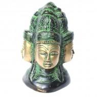 Statuette Brahmâ- Statuette Indienne (stabrh07)