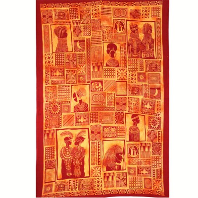 """Tenture """"Portraits d'Afrique"""" (tmm092/2)"""