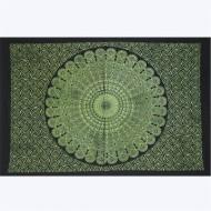 """Tenture Indienne """"Lotus"""" (tptlo01v)"""