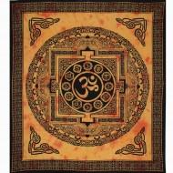"""Tenture Indienne """"Om"""" (tgm183)"""