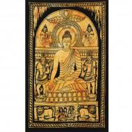 """Tenture Indienne """"Bouddha"""" (tptboud02j)"""
