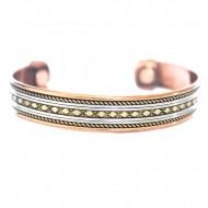 Bracelet Cuivre et Aimants (brincui020)