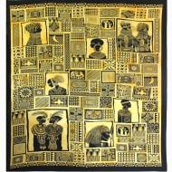 """Tenture murale """"Portraits d'Afrique""""(tgm059)"""