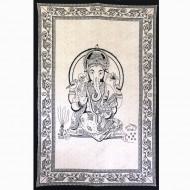"Tenture Indienne ""Ganesh"" (tmm264)"