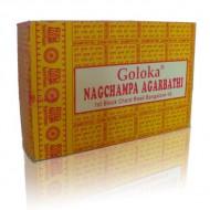 encens nag champa agarbathi - Encens Goloka boite jaune