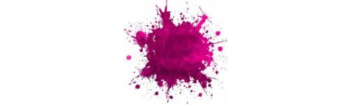 Tentures violettes