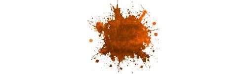 Tentures orange