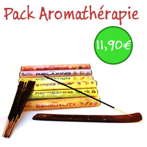 pack d encens aromatherapie