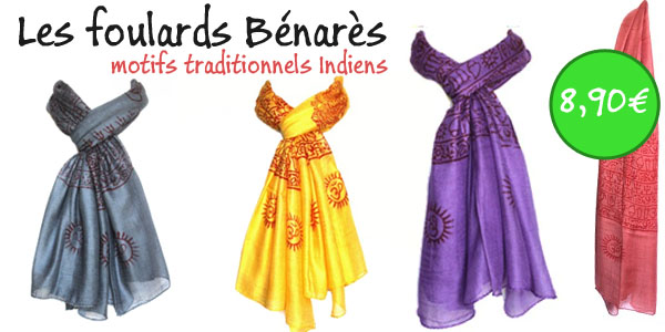foulards indiens