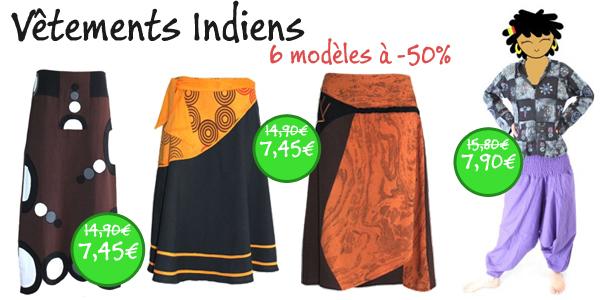 vêtements indiens