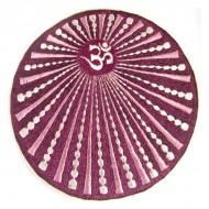 Ecusson Géant Soleil et Ôm violet (ecnep5R004)