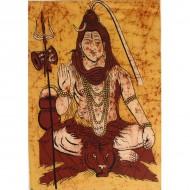 """Tenture """"Shiva""""- Batik(tpb006)"""