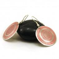 Boucles d'oreilles rondes Indiennes (binea020)