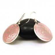 Boucles d'oreilles rondes Indiennes (binea021)