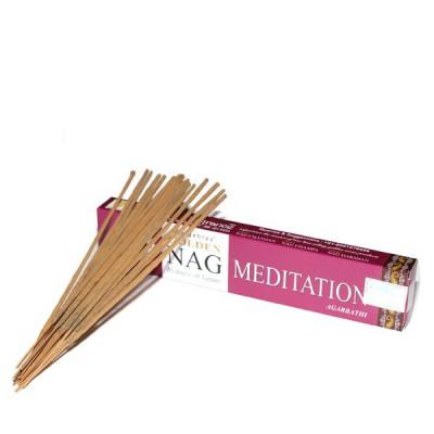 """Encens indien """"Golden Nag Meditation"""" (nagmed1/15)"""