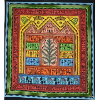 "Tenture Murale ""Arbre Africain"" (tgm109)"