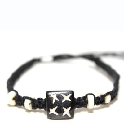 Bracelet indien en os (brinco008)