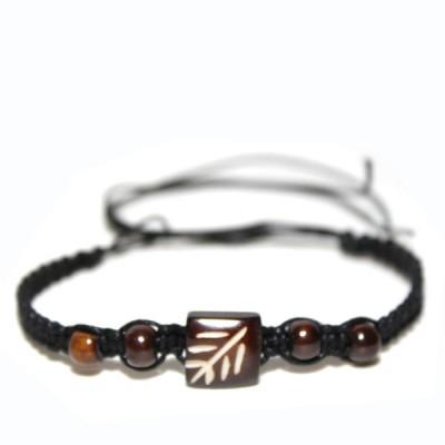 Bracelet indien en os (brinco010)