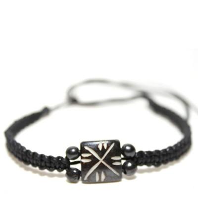 Bracelet indien en os (brinco012)