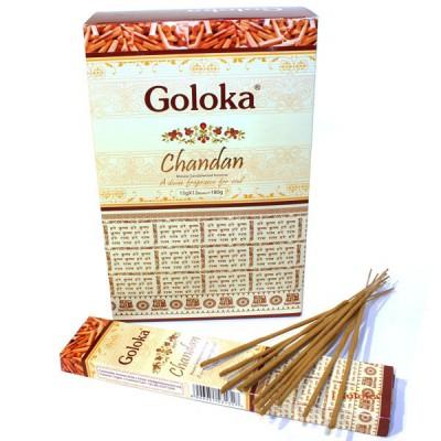 "Encens indien ""Goloka Chandan"" (golchandan12-15)"