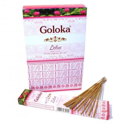 """Encens indien """"Goloka Lotus"""" (gollotus12-15)"""