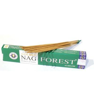 """Encens indien """"Golden Nag Forest"""" (nagfor1/15)"""