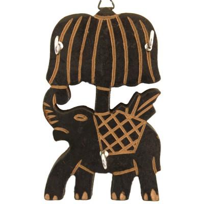 """Accroche clé mural """"Elephant"""" (acclé01el)"""