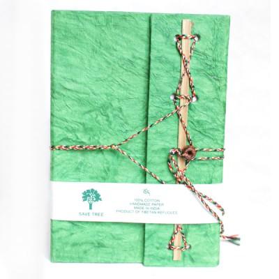 Carnet de note Indien vert (cnig10v)