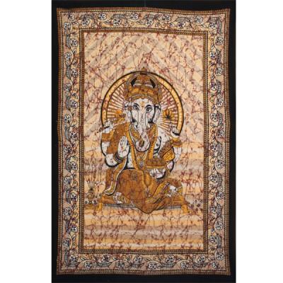 """Tenture Indienne """"Ganesh"""" (tmm198/2m)"""