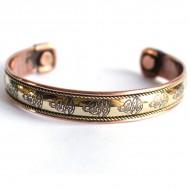 Bracelet Cuivre et Aimants Motifs Bouddha
